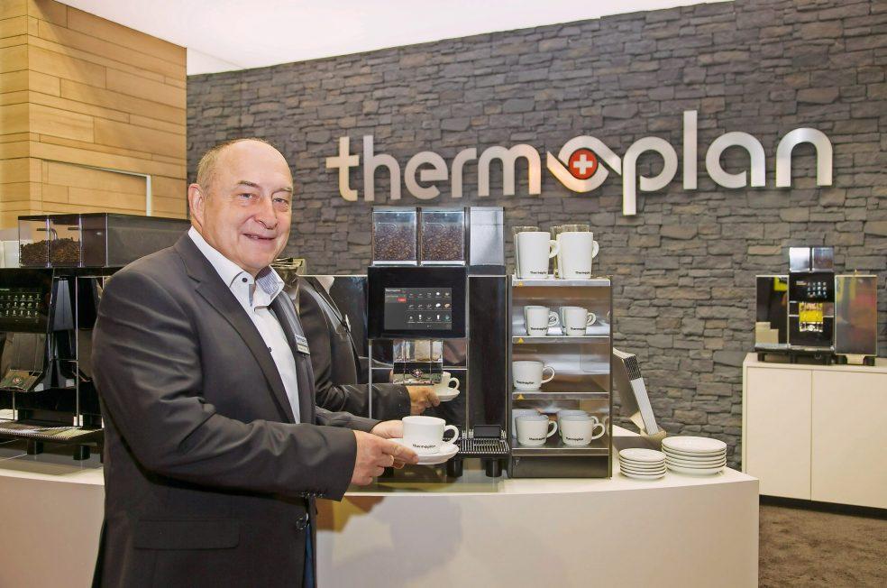 Wolfgang Peterka, Geschäftsführer von Thermoplan Deutschland