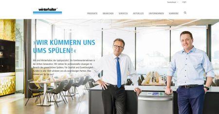 Die Winterhalter Online-Welt erscheint ab sofort mit neuen Funktionalitäten und neuem Design