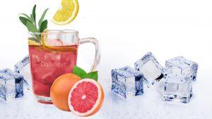 Dallmayr bietet nicht nur losen Eistee zum Selberkochen, sondern auch die passenden Rezepte.