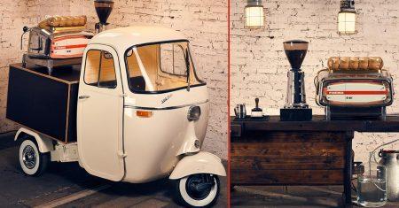 Zauberhaft und vintage: Kaffeemobil von HEY! Coffee