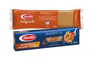 Barilla bietet beste Qualität – jetzt auch in der gesunden Variante aus dem vollen Korn.