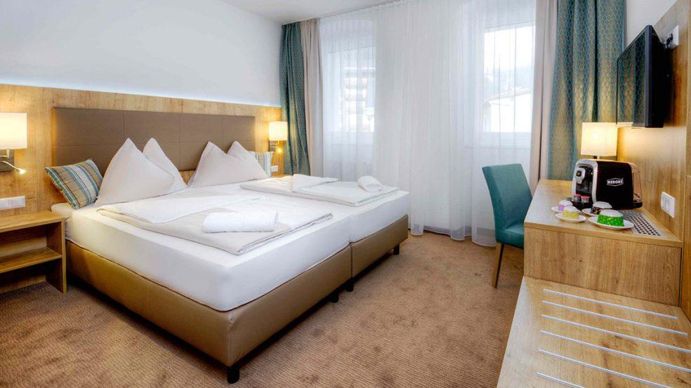 Das Hotel Bergkristall in Mallnitz bietet Gästen höchsten Schlafkomfort.