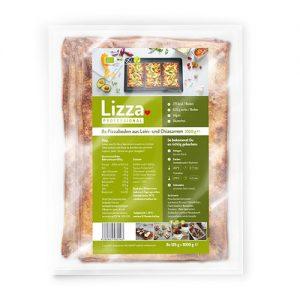 Alle Produkte von Lizza sind frei von Zusatzstoffen, vegan und Low-Carb.