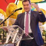 Ministerpräsident Markus Söder unterstrich nicht nur die Bedeutung der Branche, sondern sicherte auch Unterstützung zu.