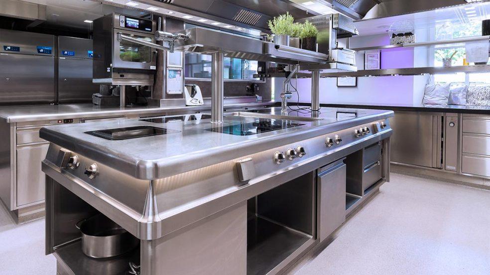 Das Konzept geht auf: Viel Raum für kreative Küchenarbeit