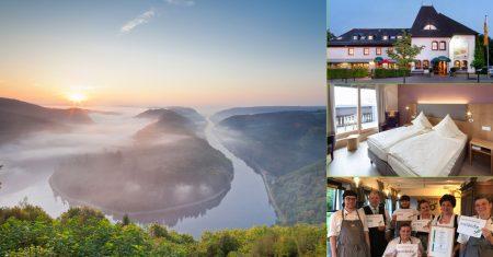 Idyllisch, nachhaltig und mit durchdatem Konzept: Das Landhotel Saarschleife.