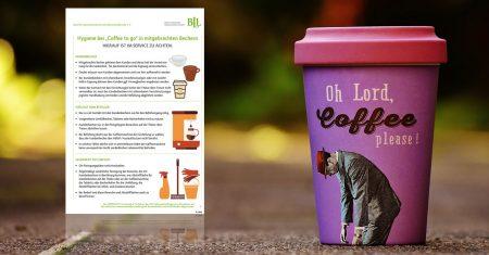 Bieten Sie Ihren Kunden originelle Mehrwegbecher für den Coffee-to-go an.