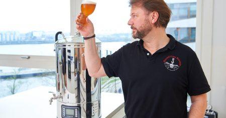 Biersommelier Mike Auerbach