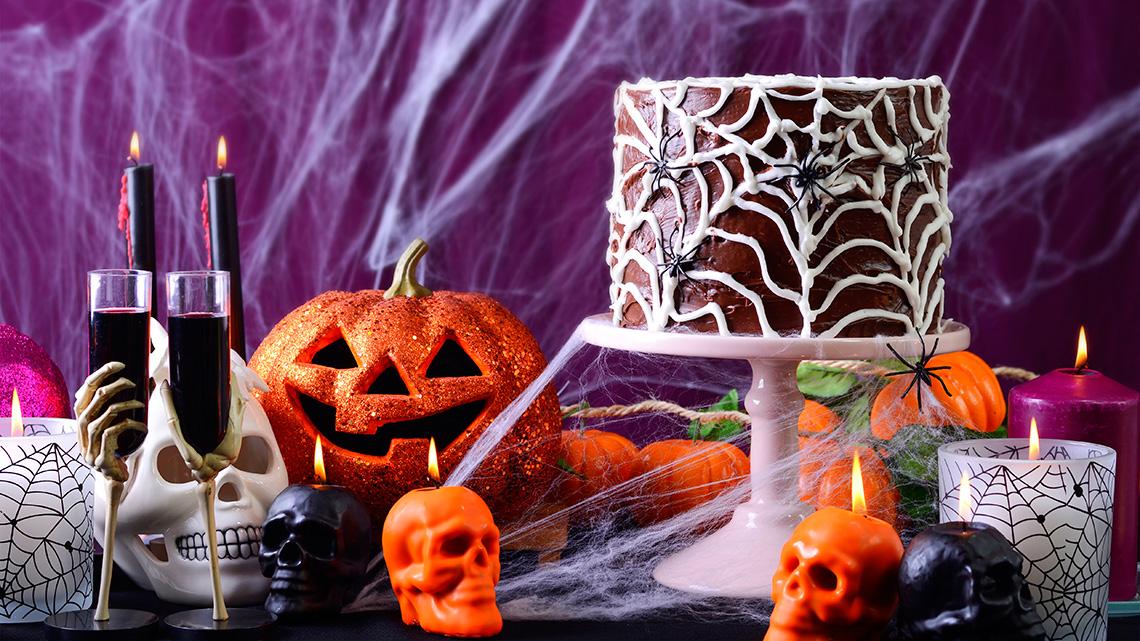 Passende Dekorationen für Ihre Halloween-Party