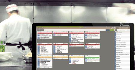 Eine digitale Software schont nicht nur den Geldbeutel, sondern vernetzt und optimiert wichtige Küchenabläufe zu Gunsten der Effizienz und steigert die wirtschaftliche Rentabilität des Restaurants.