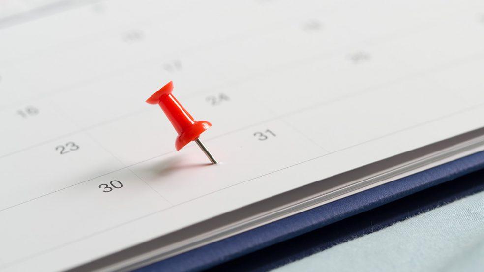Der 31. Dezember ist ein wichtiges Datum für die Verjährung von Forderungen.