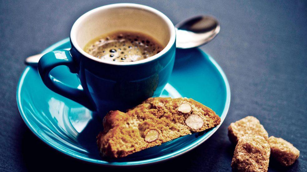 Eine Beilage zum Kaffee erfreut jeden Gast.