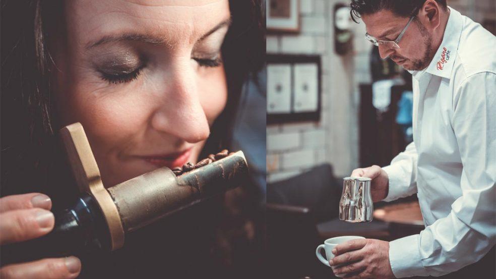 Stephanie und Lorenzo Rigano haben ihre Leidenschaft zum Beruf gemacht und bieten mit ihrer Kaffeerösterei Rigano das Beste rund um die Bohne.