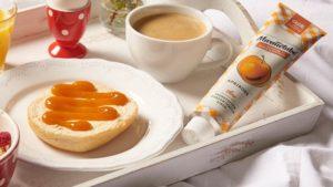 Marmelade aus der Tube – einfaches Portionieren und Verzieren.