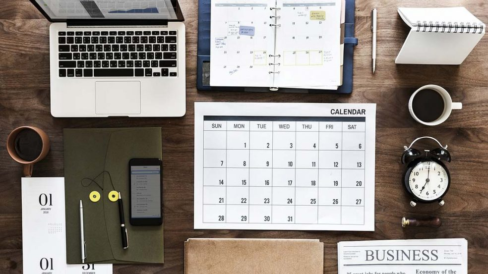 Mit dem richtigen Zeitmanagement den Alltag in den Griff bekommen.