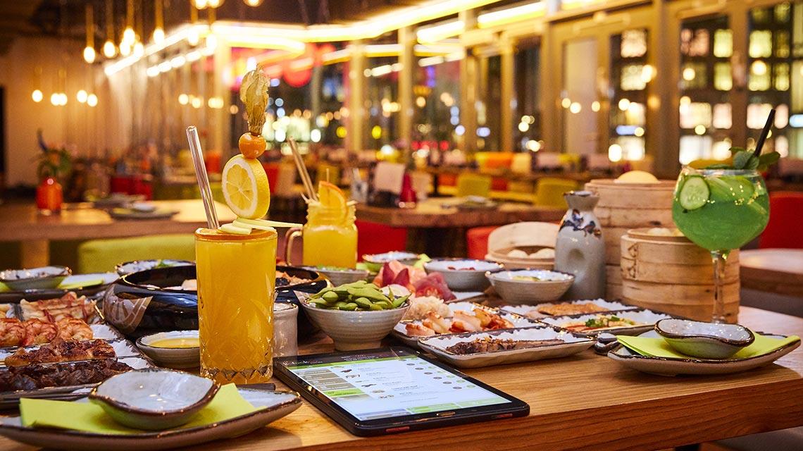 Kassenintegration im Tablet-Restaurant