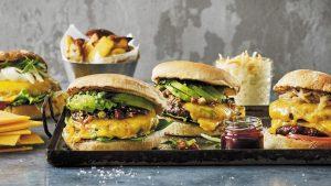 Im Test: 4 verschiedene Burger Käse von Arla