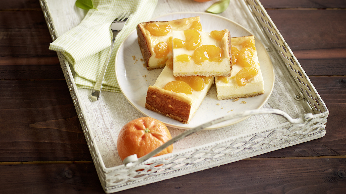 Blechkuchen Mandarine