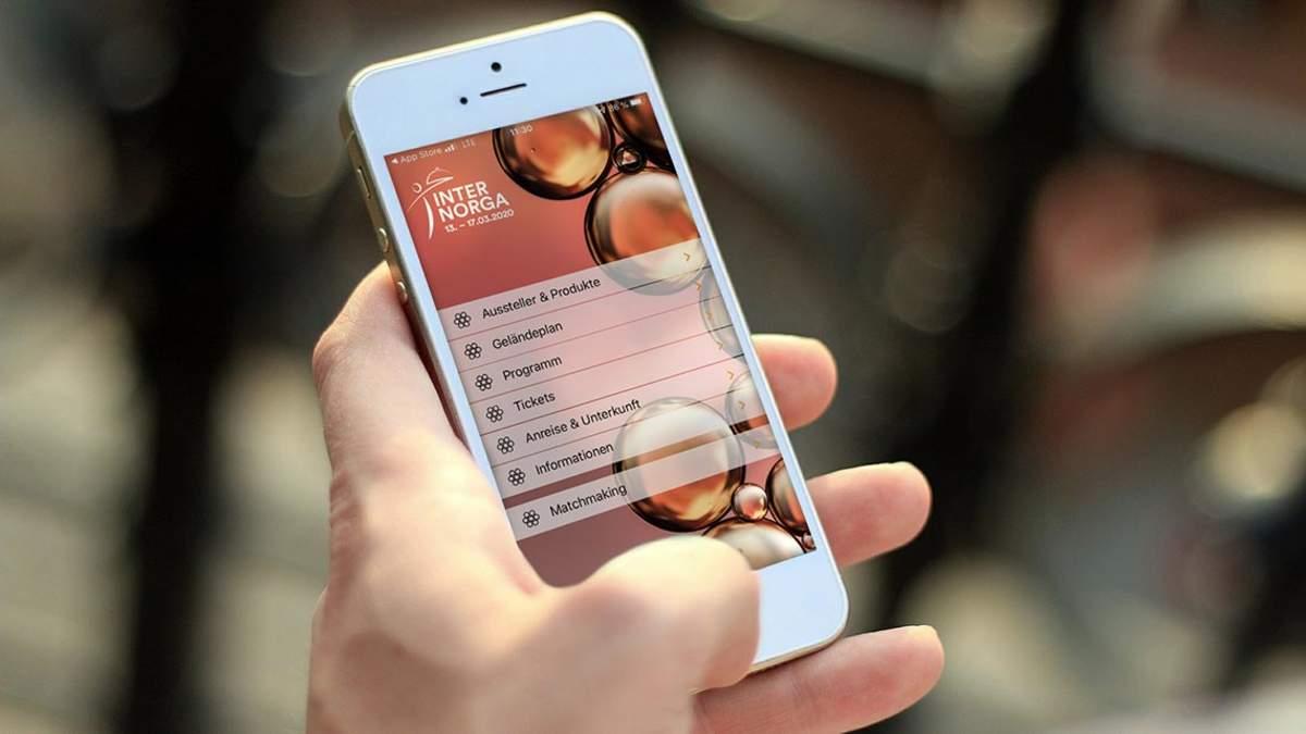 Mit der INTERNORGA App immer up-to-date